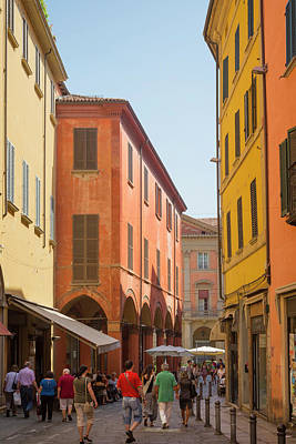Zamboni Photograph - Bologna, Italy by Ken Welsh