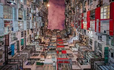 Building Digital Art - Building by Maye Loeser