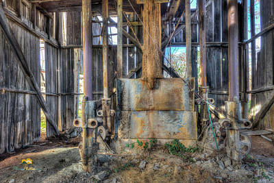 Photograph - Capital Quarry Cutting Shed by Jim Thompson