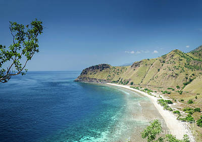 Photograph - Coast And Beach View Near Dili In East Timor Leste by Jacek Malipan