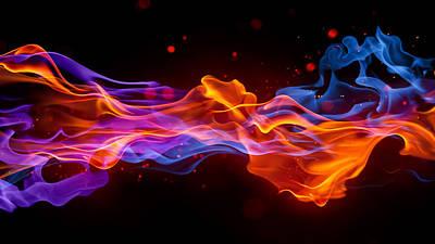Color Digital Art - Colors by Maye Loeser