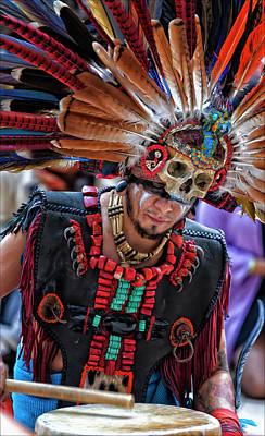 Dia De Los Muertos - Day Of The Dead 10 15 11 Art Print