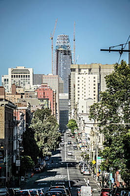 Photograph - Downtown San Francisco City Street Scenes And Surroundings by Alex Grichenko