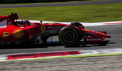Sauber Photograph - Ferrari Formula 1 Monza by Srdjan Petrovic