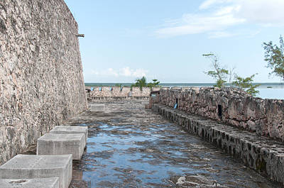 Photograph - Fort Of San Felipe In Bacalar by Carol Ailles