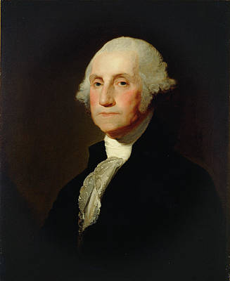 Painting - George Washington Portrait by Gilbert Stuart