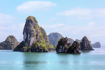 Nh Photograph - Halong Bay - Vietnam by Joana Kruse