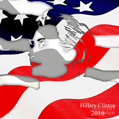 Hillary Clinton 2016 Collection Art Print