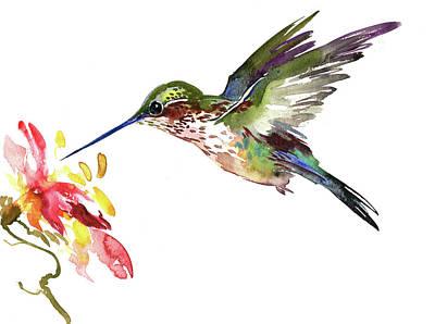 Painting - Hummingbird by Suren Nersisyan