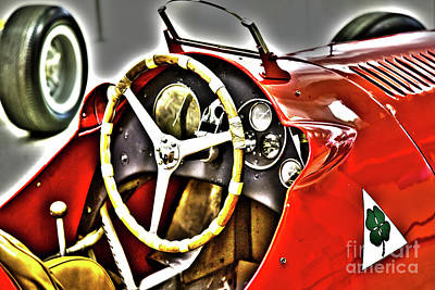 Indy Race Car Museum Print by ELITE IMAGE photography By Chad McDermott