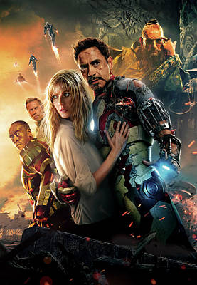 Iron Man 3 Art Print