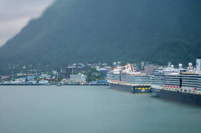 Photograph - Juneau Alaska Usa Northern Town And Scenery by Alex Grichenko