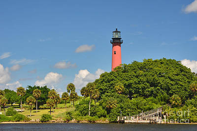 Photograph - 11- Jupiter Lighthouse by Joseph Keane