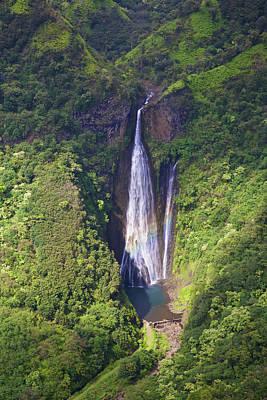 Photograph - Kauai Waterfall by Steven Lapkin