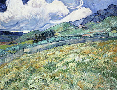Painting - Landscape From Saint-remy by Vincent van Gogh