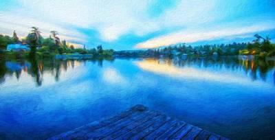 For Sale Painting - Landscape Nature Art by Margaret J Rocha