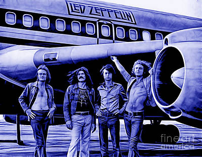 Led Zeppelin Collection Art Print