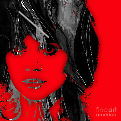 Mixed Media - Linda Ronstadt Collection by Marvin Blaine