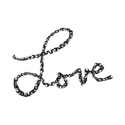 Drawing - Love by Bill Owen