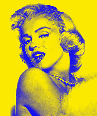 Marilyn Mixed Media - Marilyn Monroe Collection by Marvin Blaine