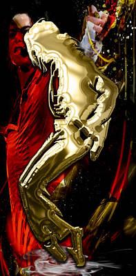 Michael Jackson Collection Art Print