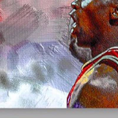 Bull Photograph - Michael Jordan. Air Jordan. The by David Haskett