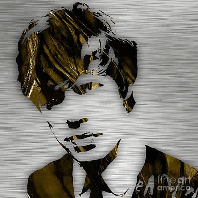 Mick Jagger Collection Art Print