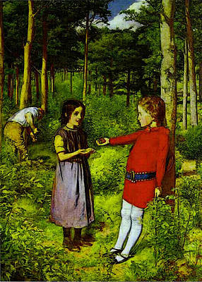 Digital Art - Millais by Sir John Everett Millais