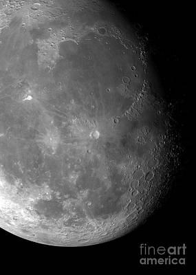 Moons Surface Art Print