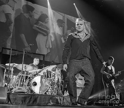 Morrissey Photograph - Morrissey by Jenny Potter