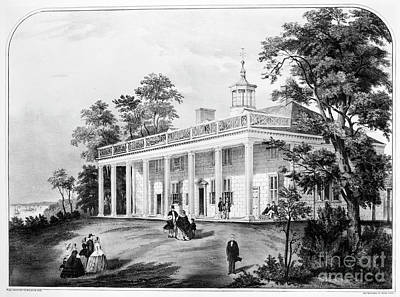 Drawing - Mount Vernon. by Granger