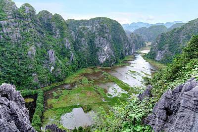 Binh Photograph - Ninh Binh - Vietnam by Joana Kruse