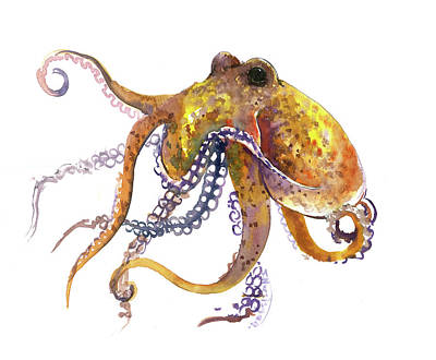 Painting - Octopus by Suren Nersisyan