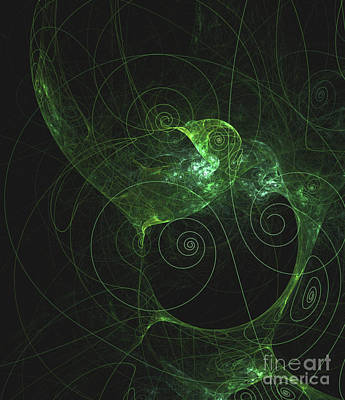 Patterns Of Life By Rt Art Print