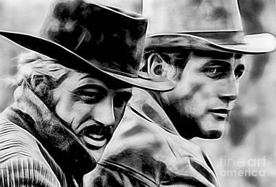 Paul Newman Collection Art Print