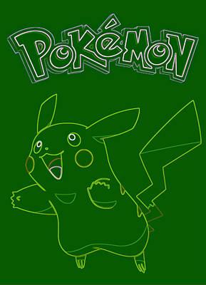 Pokemon - Pikachu Art Print