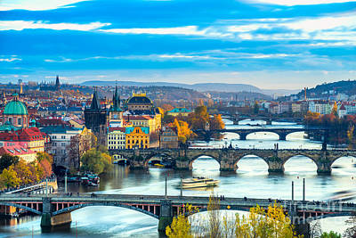 Photograph - Prague - Czech Republic by Luciano Mortula