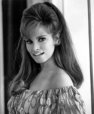 Big Hair Photograph - Raquel Welch, 1960s by Everett