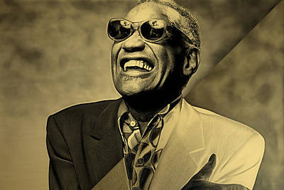 Ray Charles Collection Art Print