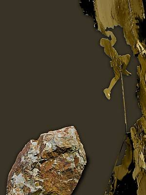 Mixed Media - Rock Climber Collection by Marvin Blaine