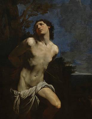 Painting - Saint Sebastian by Guido Reni