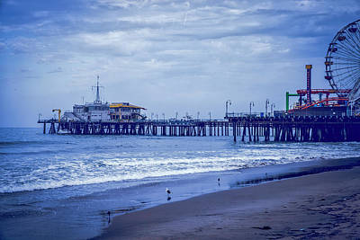Photograph - Santa Monica Pier Collection-15/36 by Gene Parks