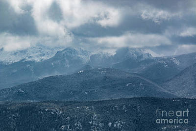 Photograph - Storm Clouds On Pikes Peak Colorado by Steve Krull