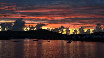 Photograph - Sunset In Dingle by Barbara Walsh