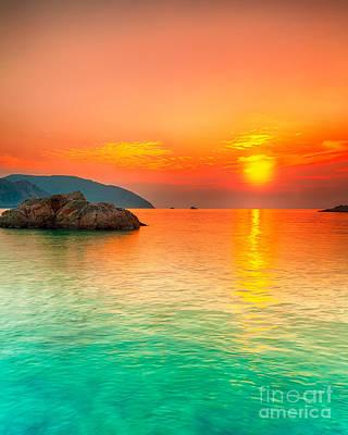 Sunset Art Print by MotHaiBaPhoto Prints