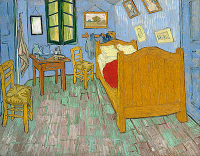 Vincent Painting - The Bedroom by Vincent van Gogh
