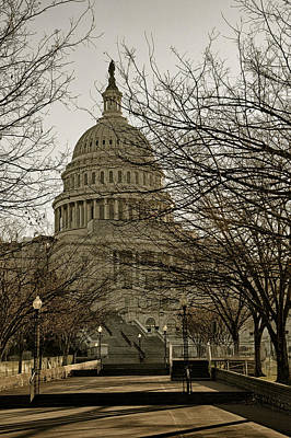 Photograph - United States Capitol Usa by Celso Diniz