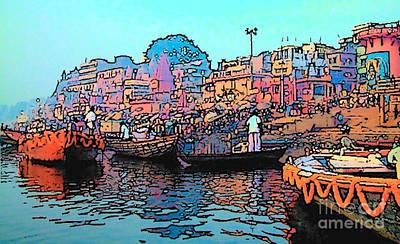 Photograph - Varanasi by Lisa Dunn