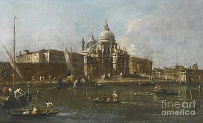 Francesco Guardi Painting - Venice by Celestial Images