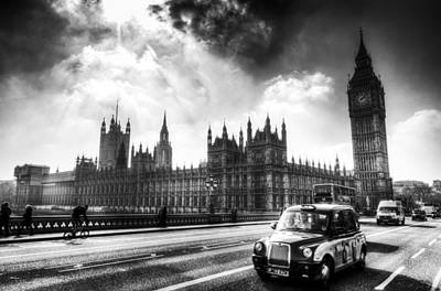 Photograph - Westminster Bridge London by David Pyatt